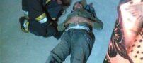 معجزه عجیب برای کارگری پس از سقوط 8 طبقه (+عکس)