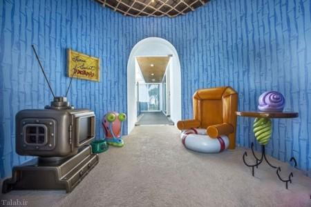 هتل باب اسفنجی در واقعیت (+عکس)