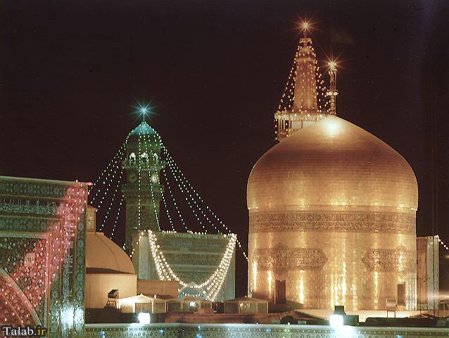 عکس مشهد مقدس برای پروفایل