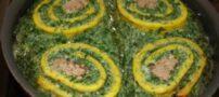 طرز تهیه کوکو سبزی قالبی