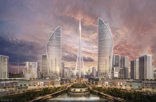 پرژه ساخت بزرگترین آسمان خراش دنیا (+عکس)