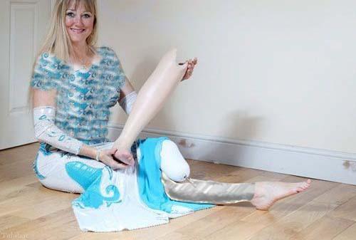 قهرمان رقص ملی بریتانیا یک پا دارد (+عکس)