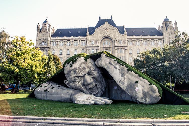 عکس های جالب مجسمه های خلاقانه دنیا