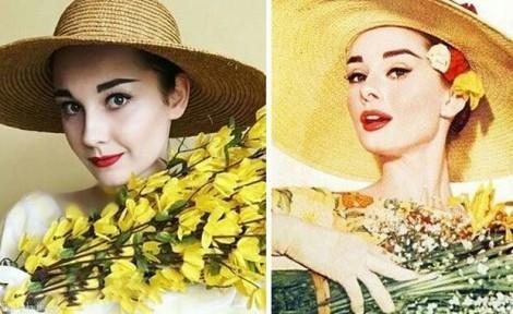 تقلید چهره بازیگران هالیوود توسط دختری زیبا (عکس)