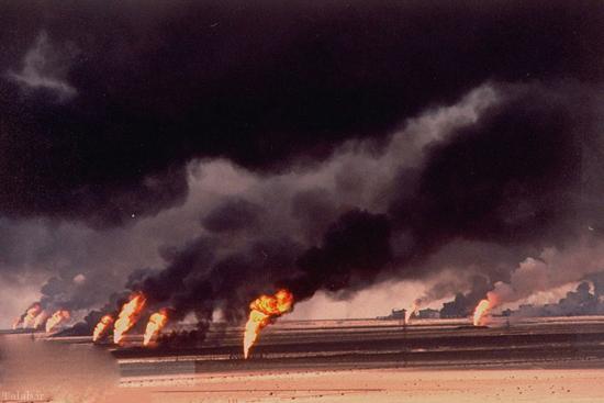 "داعش چاههای نفت ""القیاره""به آتش کشیده شد"