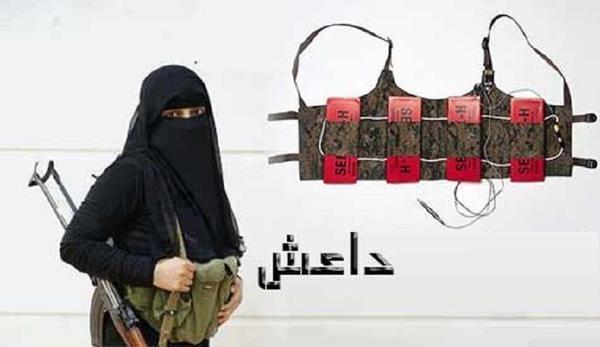 سه داعشی توسط زن عراقی اسیر شد (+عکس)