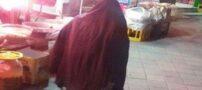 تصویری از کوتاه ترین زن در ایران را ببینید !!