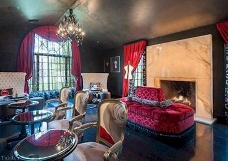 خانه آنجلینا جولی بعد از جدایی از برد پیت (+عکس)