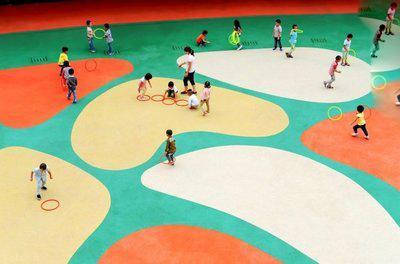 مهدکودک جذاب ودیدنی در چین (+عکس)