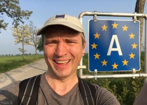 سفر 24 ساعته این مرد به دور اروپا (+عکس)