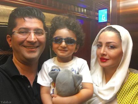 عکس جدید شیلا خداداد از پسر و شوهرش در فضای مجازی
