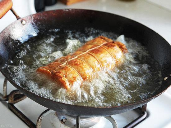 نکاتی برای سرخ کردن مناسب غذا