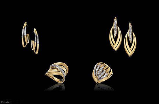مدل طلا و جواهرات دستبند و ساعت از برند Lulean Joias