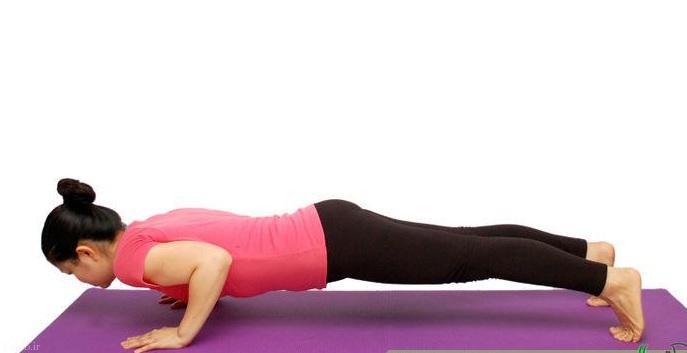 ورزش هایی برای کاهش چربی شکم