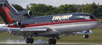 تصاویری از هواپیمای مجلل دونالد ترامپ