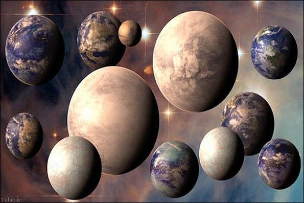 سیاره های قابل سکونت در کهکشان