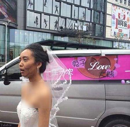 خودکشی داماد بدلیل زشت بودن عروس (+عکس)