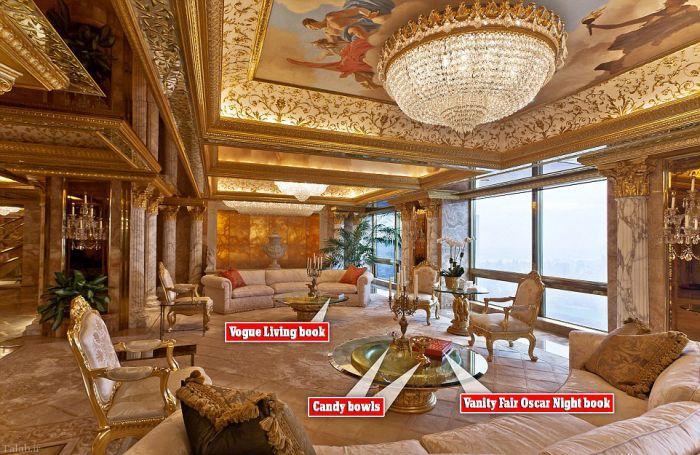 نگاهی به خانه زیبا و مجلل دونالد ترامپ بیندازید