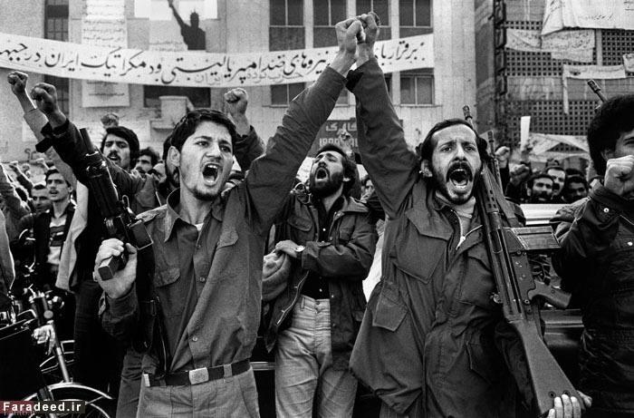 تسخیر سفارت امریکا در تهران به روایت تصویر