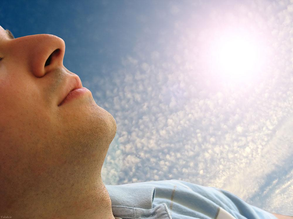 پیشگیری از عوارض نور آفتاب