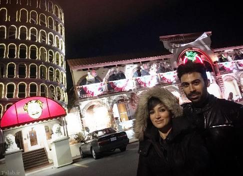 تصاویر جدید از روناک یونسی و همسرش در کانادا
