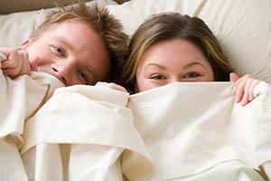 مدلهای خوابیدن با همسر
