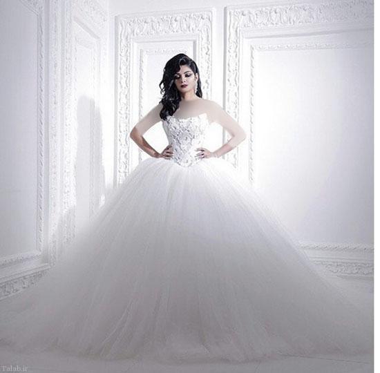 دیدنی ترین لباس های عروس
