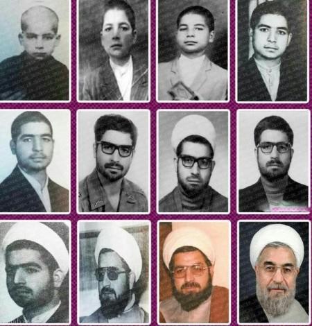 تصاویری دکتر حسن روحانی از کودکی تا به امروز