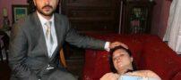 چهره نوه ای صدام و مادر ترکیه اش لو رفت (+عکس)