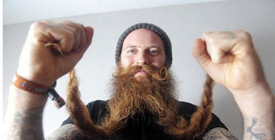 بلند ترین ریش در دنیا را ببنید (+عکس)