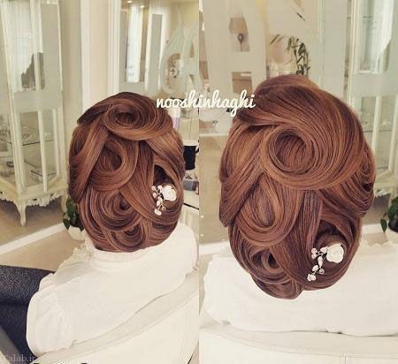 شیک ترین و خاص ترین مدل موهای عروس