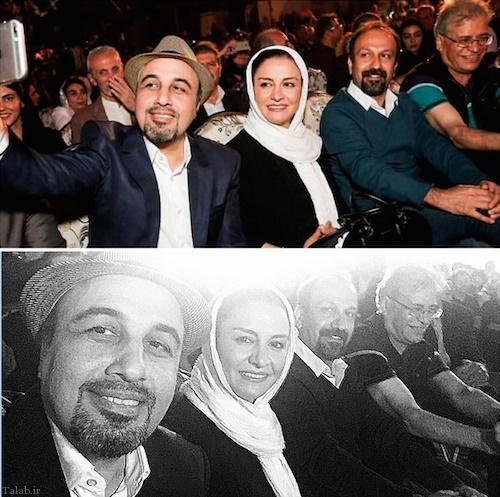 حادثه برای رضا عطاران به خاطر گرفتن سلفی (عکس)