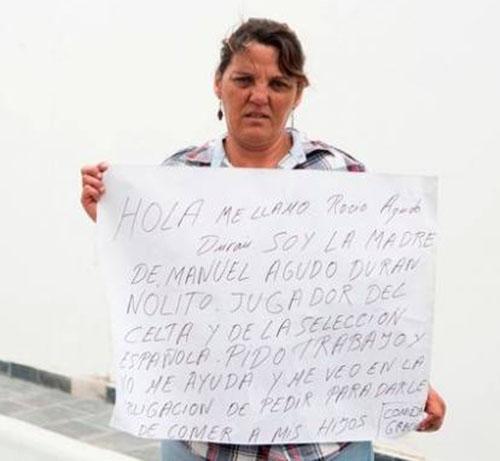 فقر مادر بازیکن معروف فوتبال (+تصاویر)