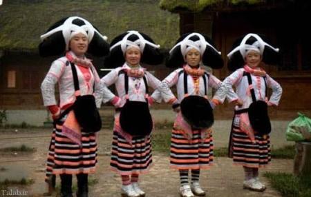 رسم جالب برای دختران چینی در روز ازدواج (+عکس)