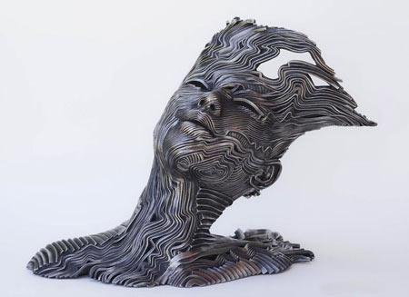 مجسمه های بینظیر از انسان ها (+عکس)
