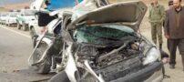 مچاله شدن زانتیا در تصادف با کامیون + عکس