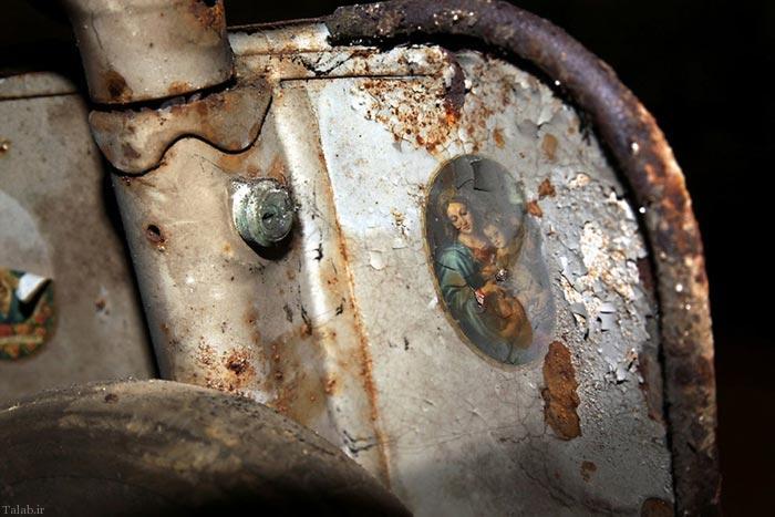 تونل شگفت انگیز ماشینهای قدیمی در ایتالیا (عکس)