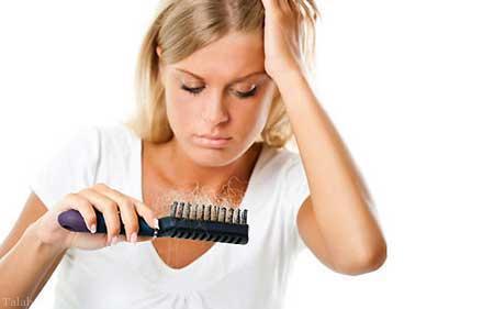 مواقعی که خانم ها دچار ریزش مو می شوند