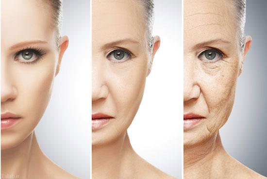 جلوگیری از چروکیدگی پوست