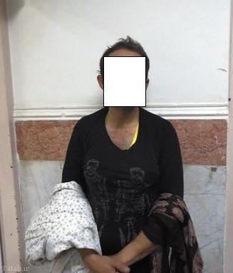 دستگیری مردی با لباس زنانه در امامزاده (+عکس)