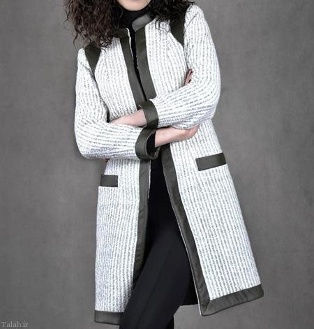 مدل مانتو های زیبای سیاه و سفید (+عکس)