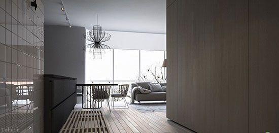 دکوراسیون شیک و جذاب منزل با رنگ روشن