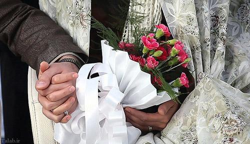برگزاری مراسم عقد زوج دزفولی در بیمارستان (عکس)