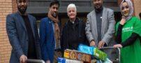 کمک های مردم مسلمان به افراد فقیر در لندن
