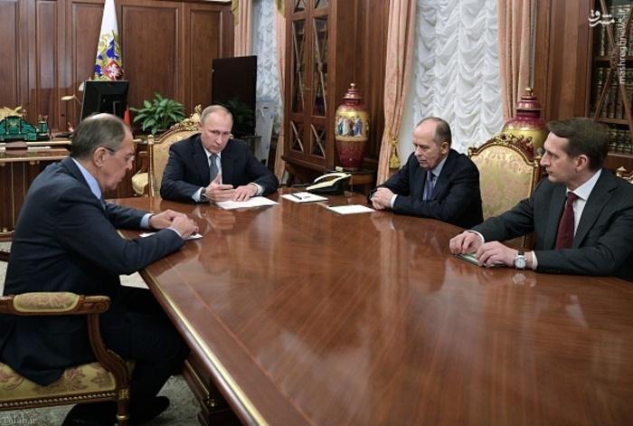 جلسه فوق العاده پوتین در پی ترور سفیر روسیه