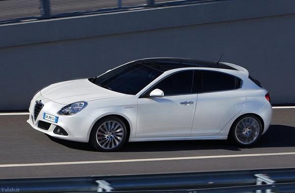 مشخصات فنی خودرو آلفارومئو میتو
