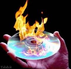 رایت بیش از حجم سی دی