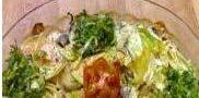 نحوه تهیه سینی سبزیجات با پنیر و خامه