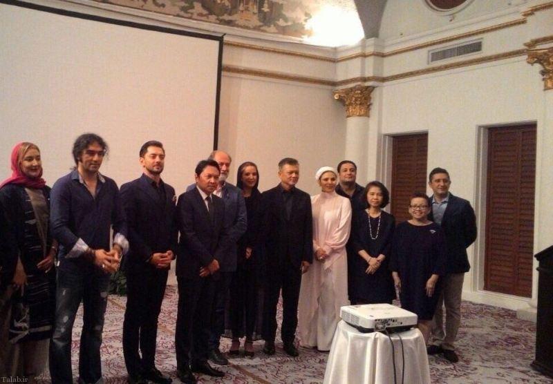 پوشش جالب سحر دولتشاهی در مهمانی تایلندی ها (عکس)