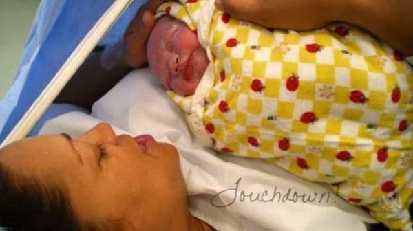 زنی که با اسپرم اهدایی حامله شد!!+ عکس